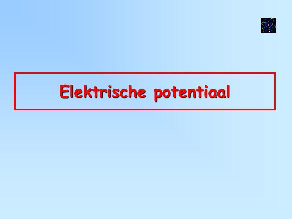 Elektrische potentiaal