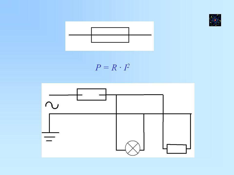 P = R · I 2