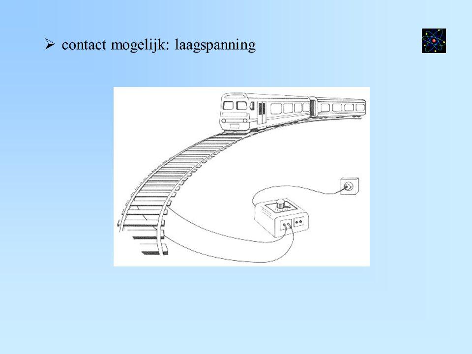  contact mogelijk: laagspanning