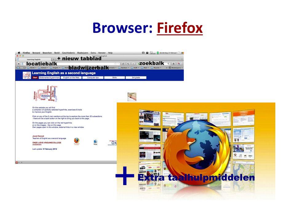 Browser: FirefoxFirefox +