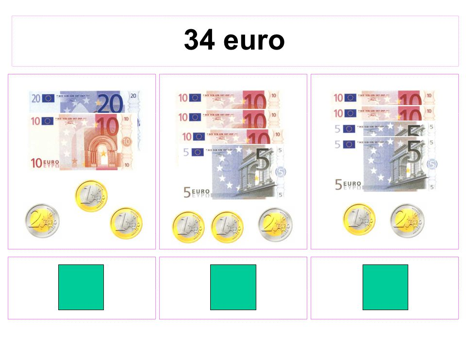 34 euro