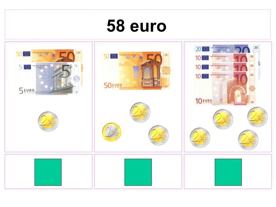 58 euro