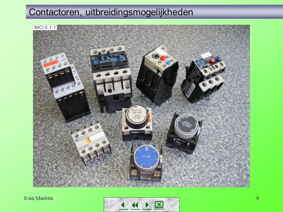 Ivan Maesen9        Contactoren, uitbreidingsmogelijkheden