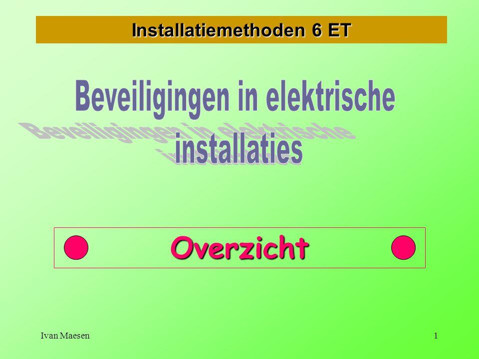 Ivan Maesen1 Installatiemethoden 6 ET Overzicht