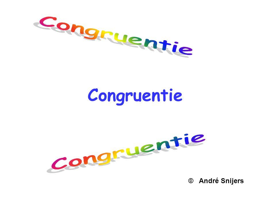 Congruentie © André Snijers