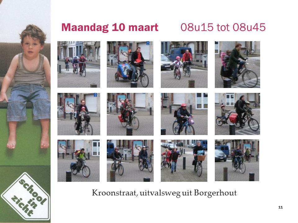 Maandag 10 maart08u15 tot 08u45 Kroonstraat, uitvalsweg uit Borgerhout 11
