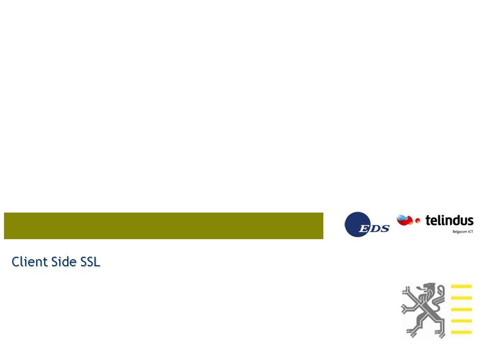 Client Side SSL