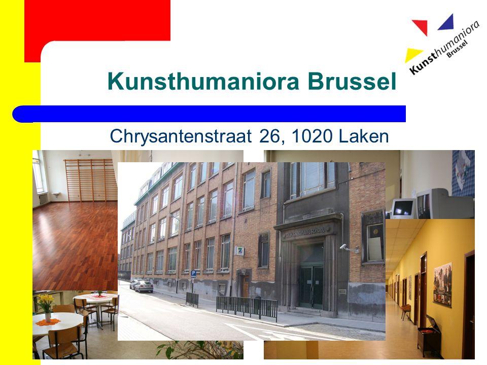 Kunsthumaniora Brussel Chrysantenstraat 26, 1020 Laken