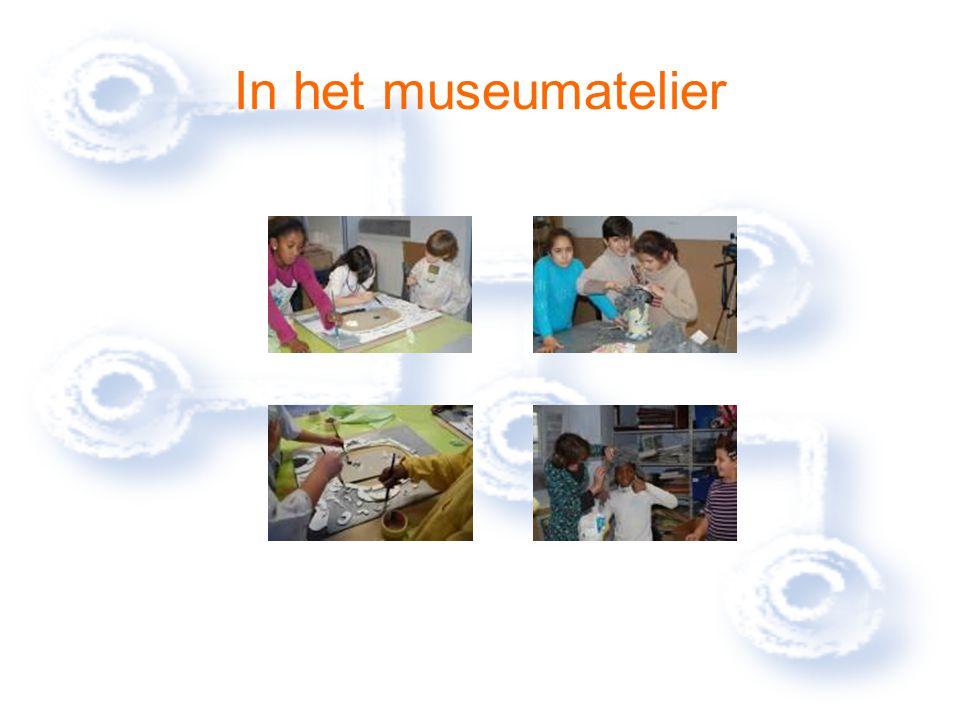 In het museumatelier