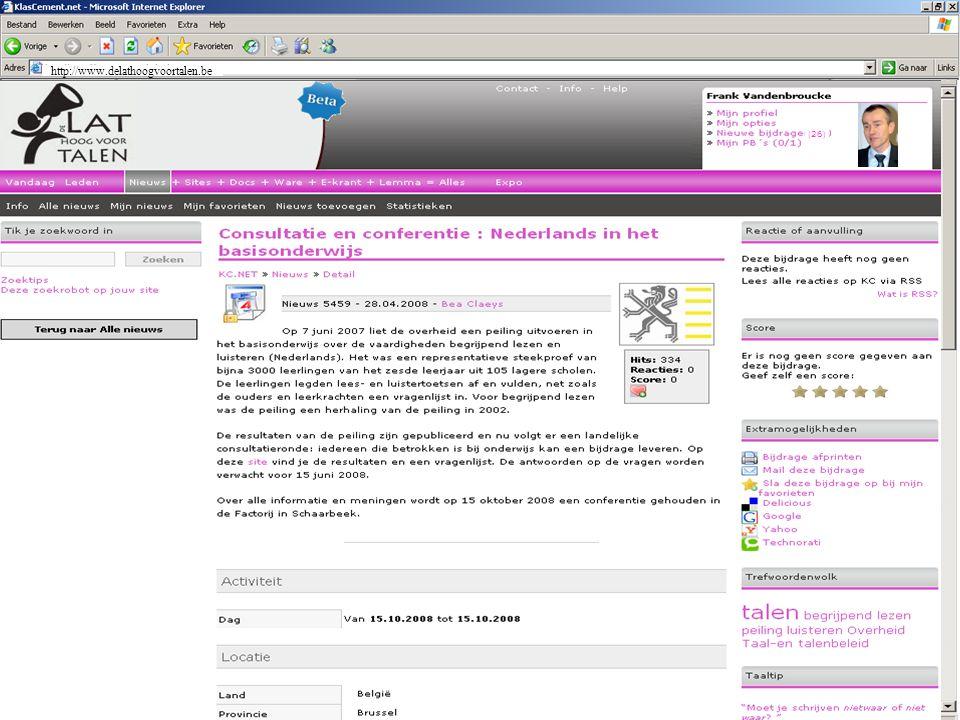 http://www.delathoogvoortalen.be (26)