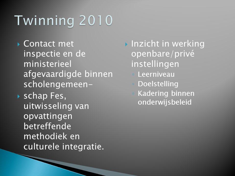  Vlaanderen ◦ Op beleidsvoerend niveau inzicht verwerven in het Vlaams onderwijs -en bij uitbreiding-in de maatschappelijke visies binnen een Europees draagvlak.