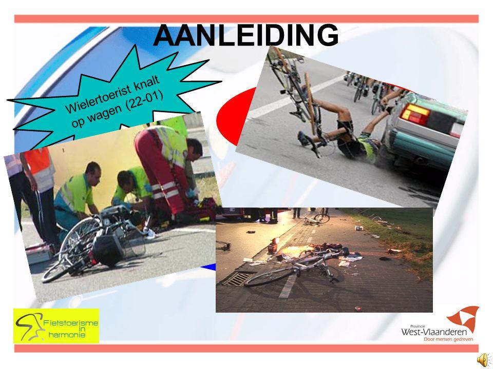 AANLEIDING Fietsers moeten straat op door scheuren en putten in fietspad (30-01) Wielertoerist knalt op wagen (22-01) Zwaargewond na val door put in wegdek (12-04)