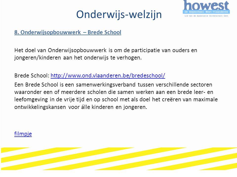 Onderwijs-welzijn 8.