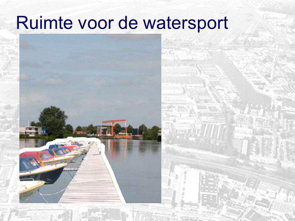 Ruimte voor de watersport