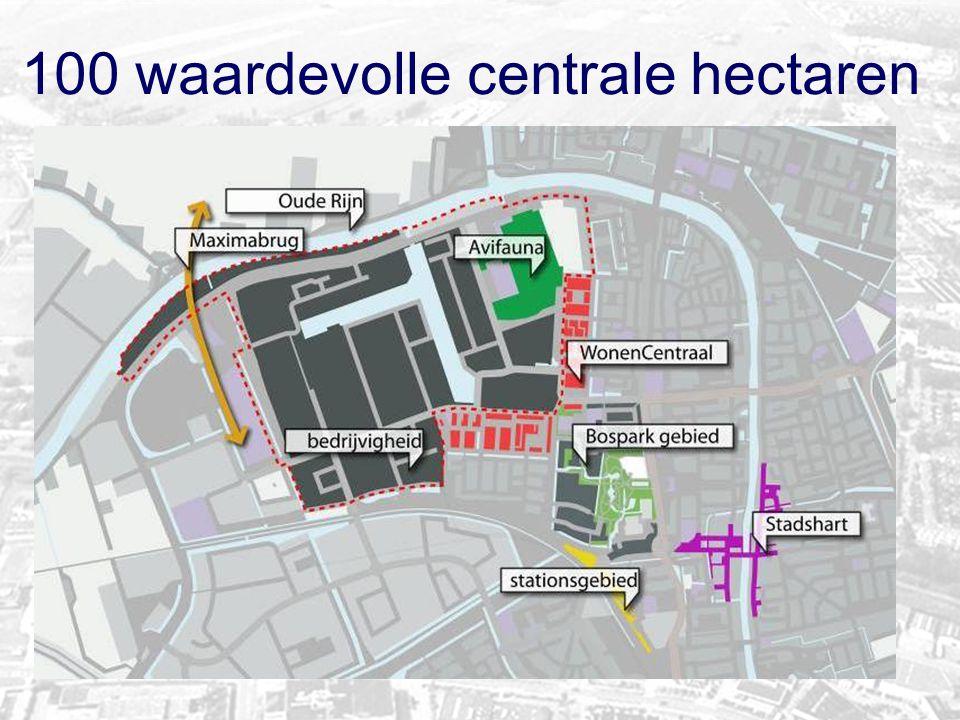 100 waardevolle centrale hectaren