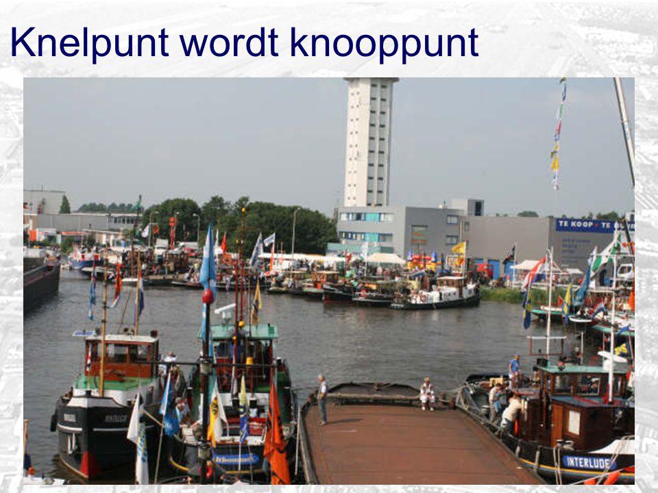 Haven verbindt de stad aan de Rijn
