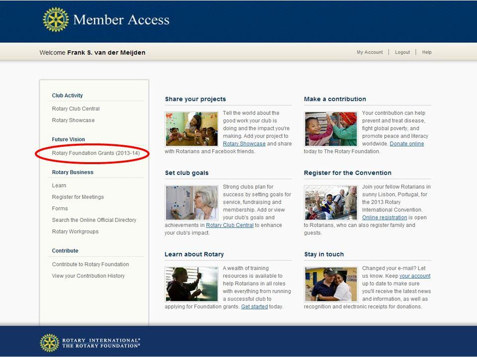 District 1550 Werkdag 6 oktober 2012 NEWS LETTERS Via MY ACCOUNT