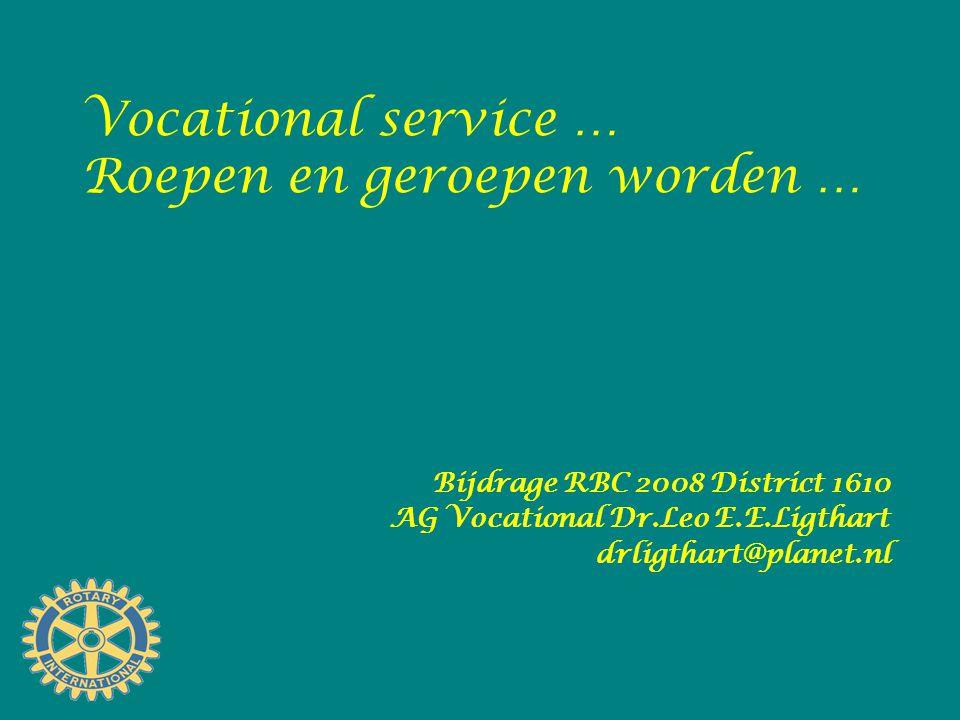 Geef jouw beroep een stem door … 1.Bewustwording 2.Maatschappelijke betrokkenheid 3.Dienstbaarheid