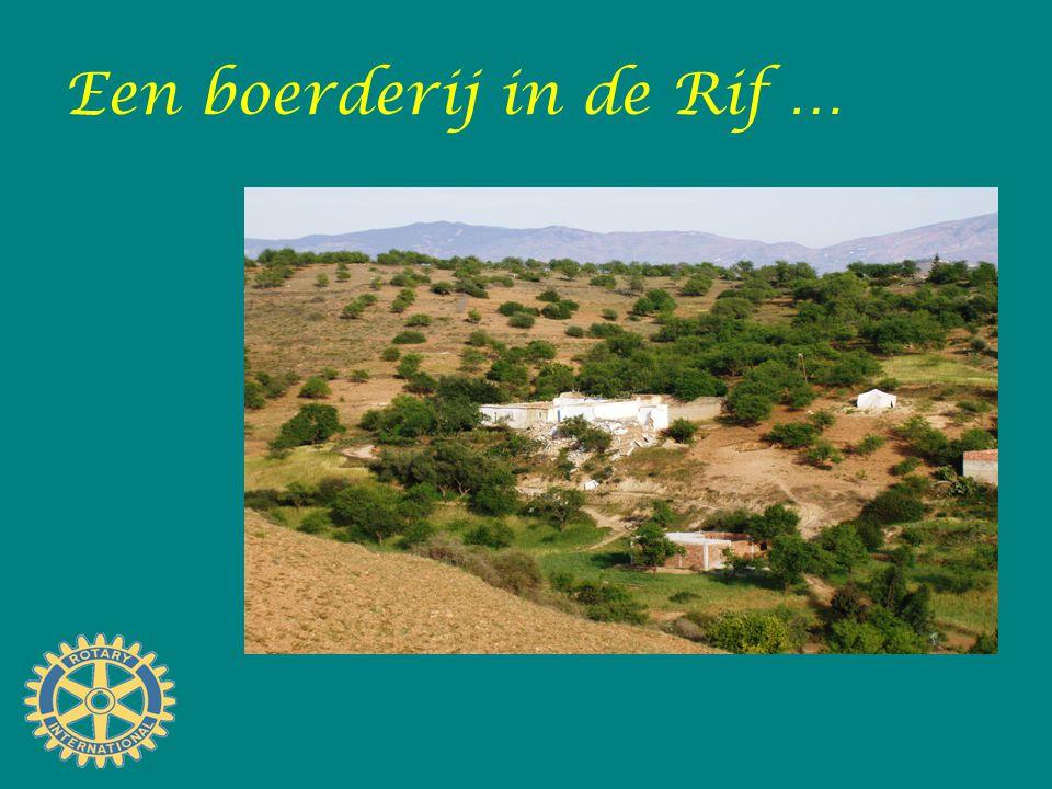 Een boerderij in de Rif …