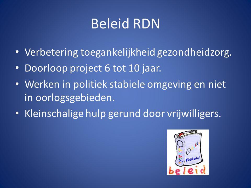 Beleid RDN Verbetering toegankelijkheid gezondheidzorg.