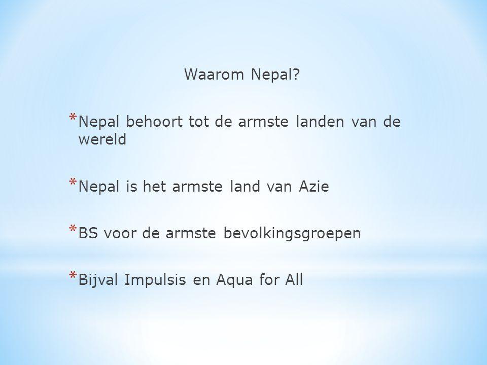 Waarom Nepal.