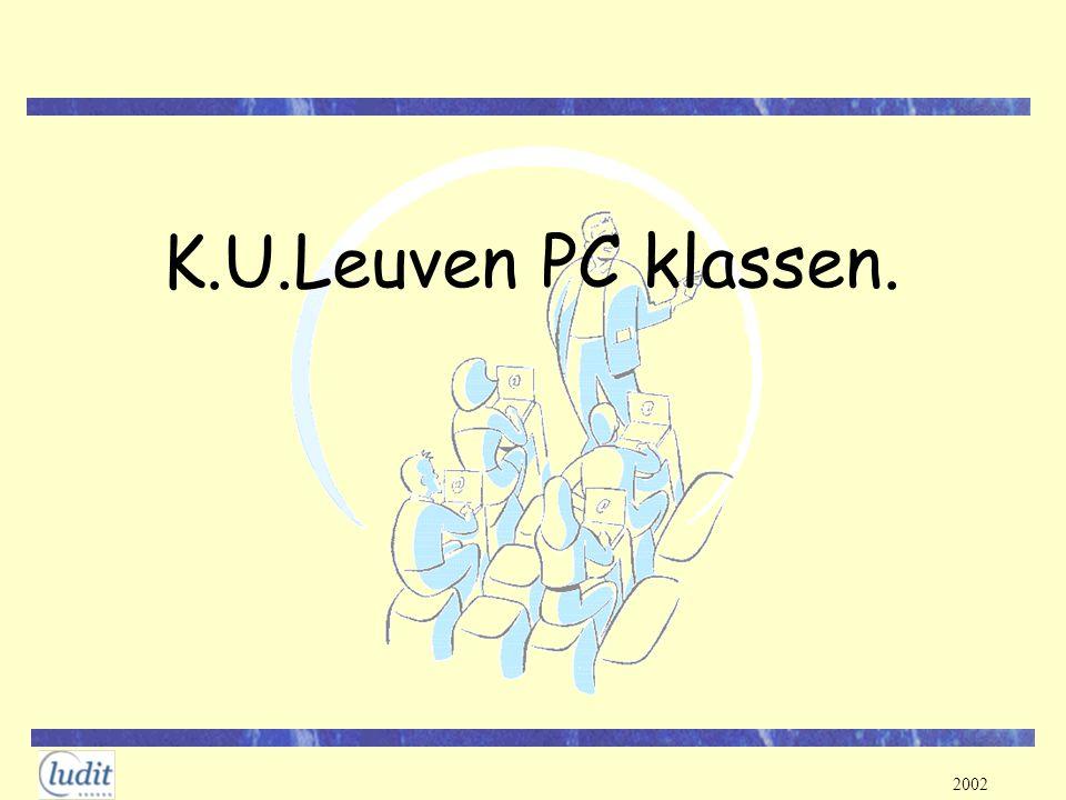 2002 K.U.Leuven PC klassen.