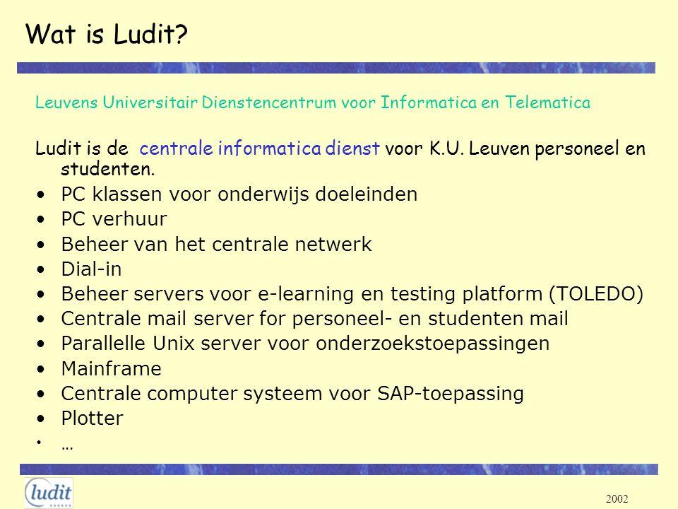 2002 KotNet internet toegang via kabel voor studenten/personeel in privé woningen 2 providers UPC en Iverlek.