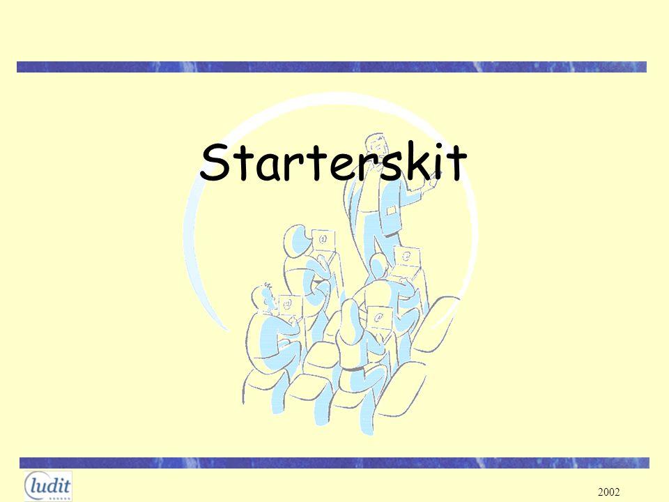 2002 KotNet: login Belangrijk: login (iedere dag!) Surf to www.ludit.kuleuven.ac.be