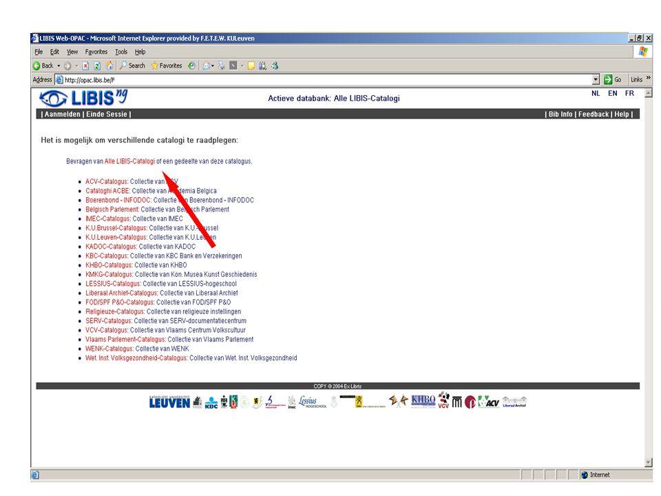 Infosessie 2005 created by EM Je hebt een exacte referentie met tijdschrifttitel