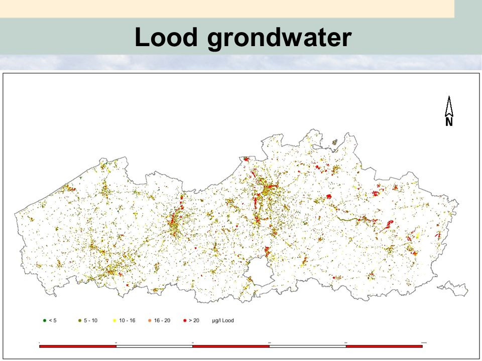 Lood grondwater