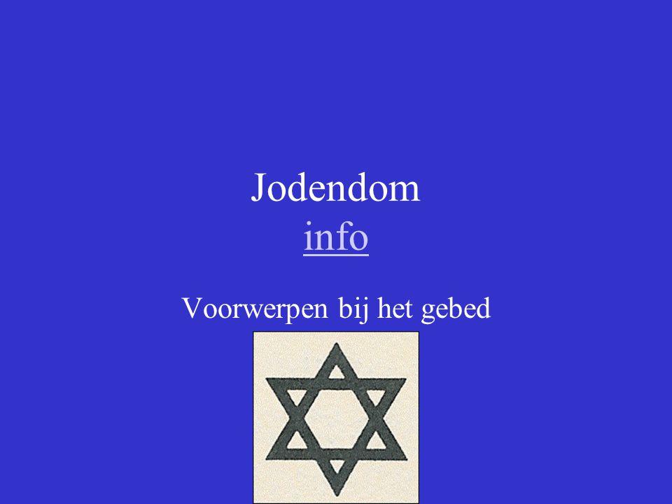 Jodendom info info Voorwerpen bij het gebed