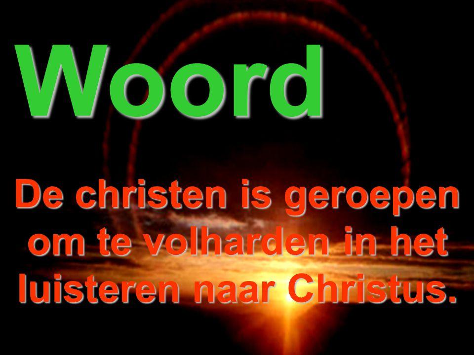 Licht De christen is geroepen om drager van het Licht te zijn.