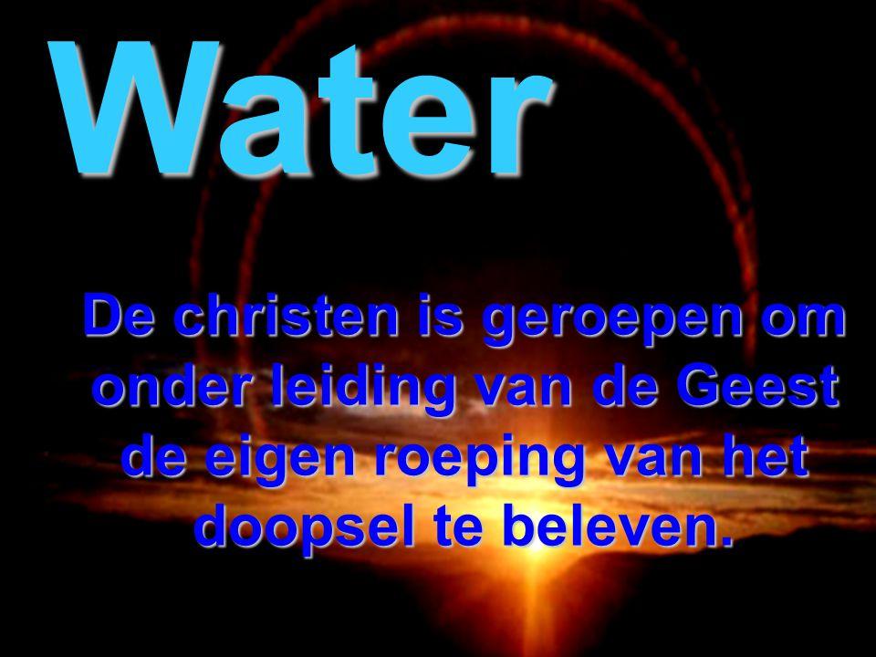 De christen is geroepen om te volharden in het luisteren naar Christus. Woord