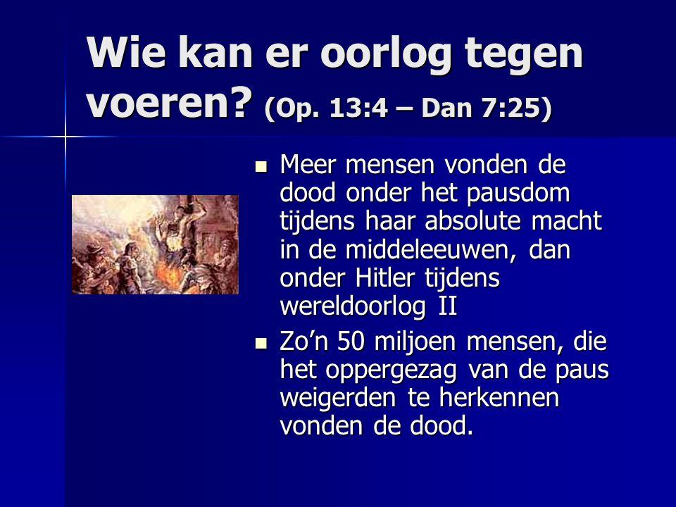 Openbaring 13:5 Een mond die grote woorden en godslasteringen uitspreekt.