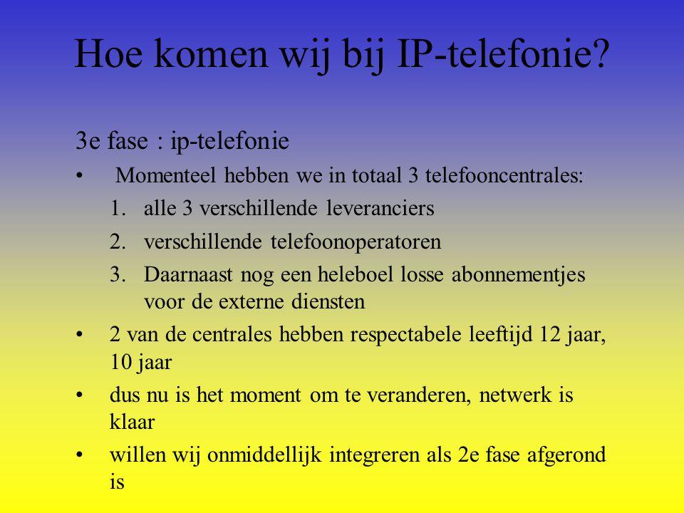 Wat zijn de voordelen van IP- telefonie.