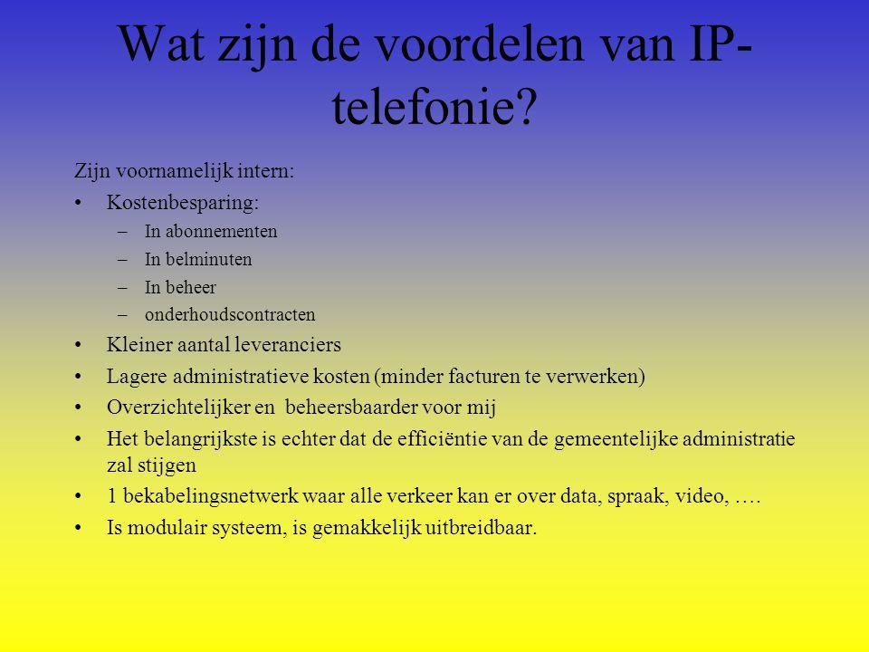 Wat zijn de voordelen van IP- telefonie van VERA.