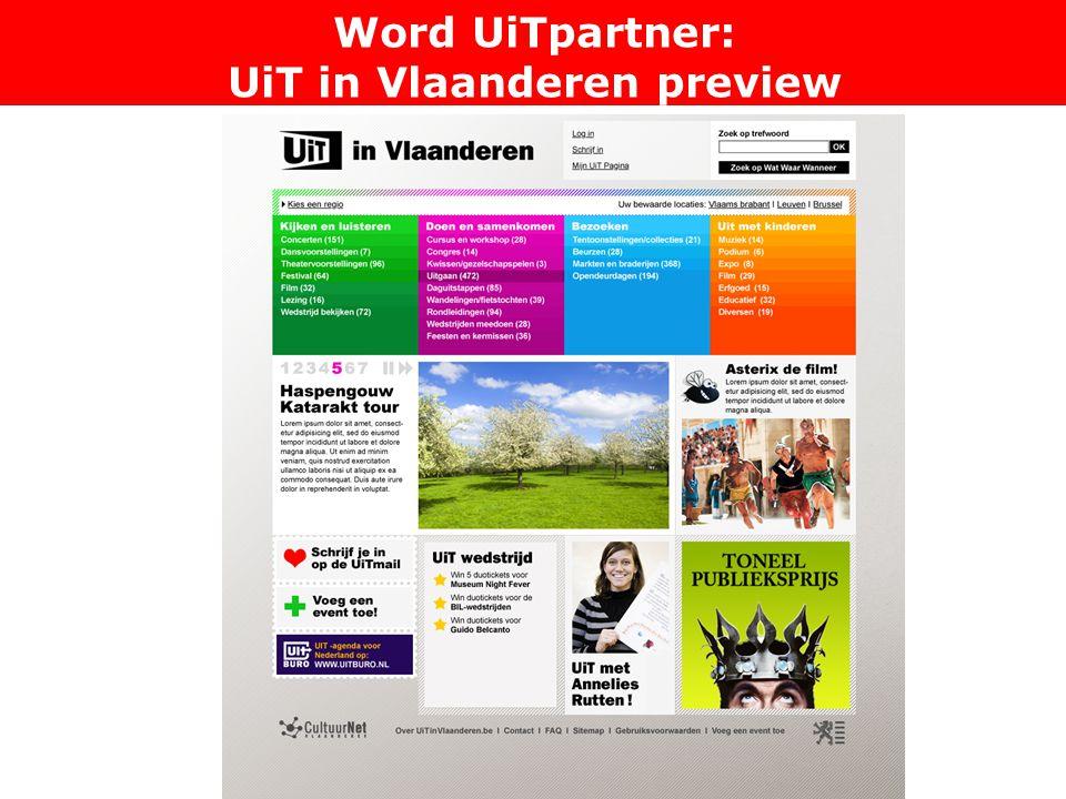 Word UiTpartner: UiT in Vlaanderen preview