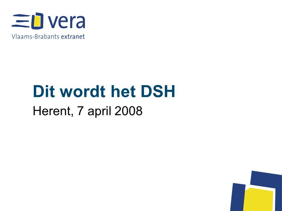 Dit wordt het DSH Herent, 7 april 2008