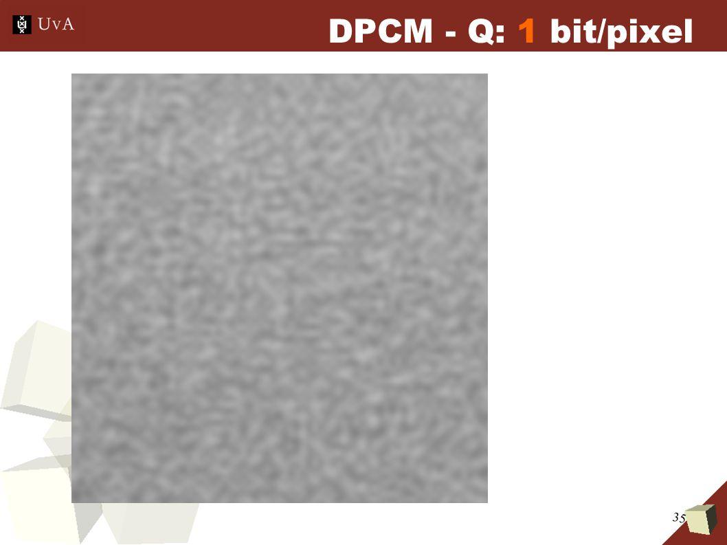 35 DPCM - Q: 1 bit/pixel
