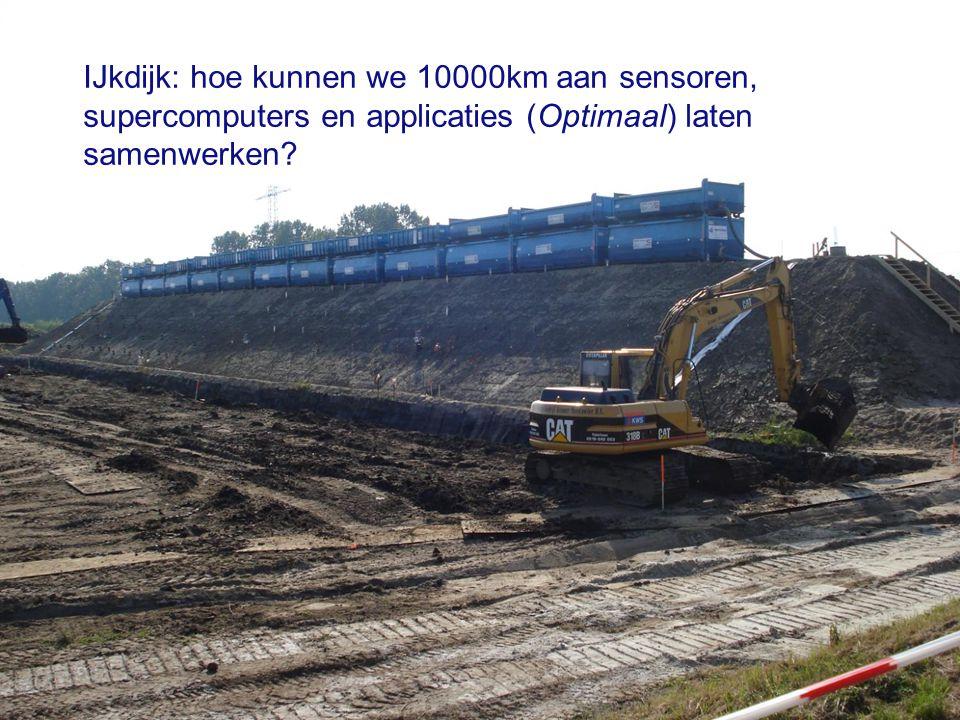 IJkdijk: hoe kunnen we 10000km aan sensoren, supercomputers en applicaties (Optimaal) laten samenwerken?