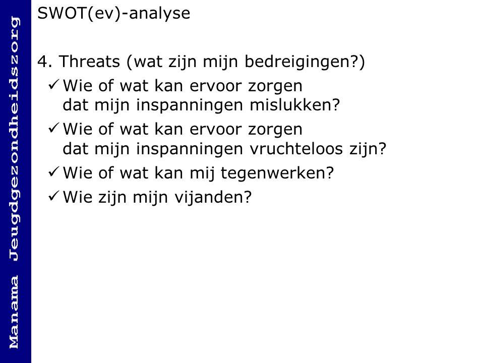 SWOT(ev)-analyse 4.