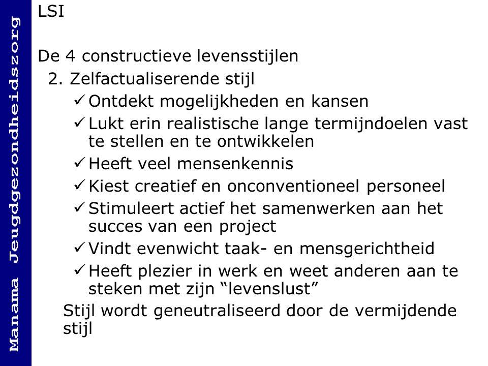 LSI De 4 constructieve levensstijlen 2.