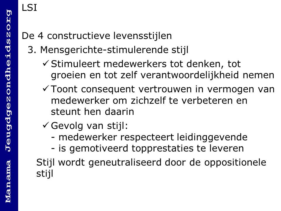 LSI De 4 constructieve levensstijlen 3.