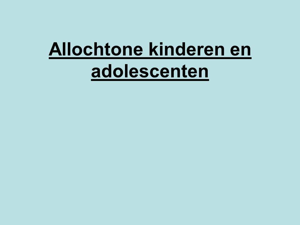 Allochtone kinderen en adolescenten