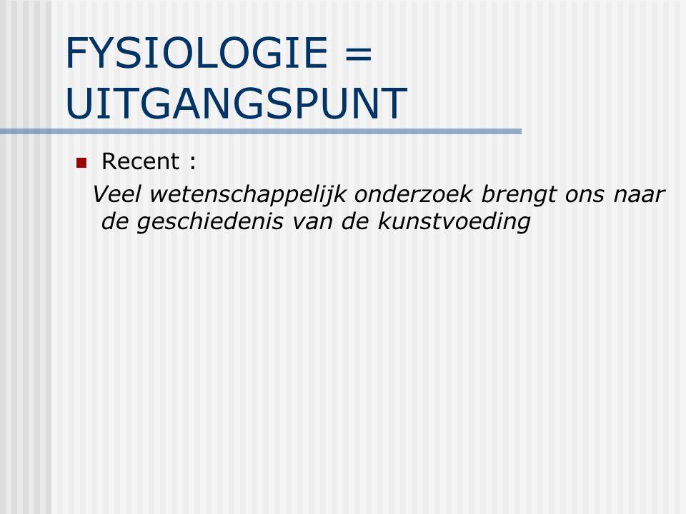 Invloed op oxytocine-afgifte :  anti-cholinergica alcohol opiaten sympathicomimetica