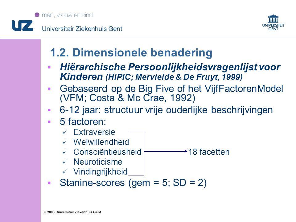 12 © 2008 Universitair Ziekenhuis Gent 1.2.