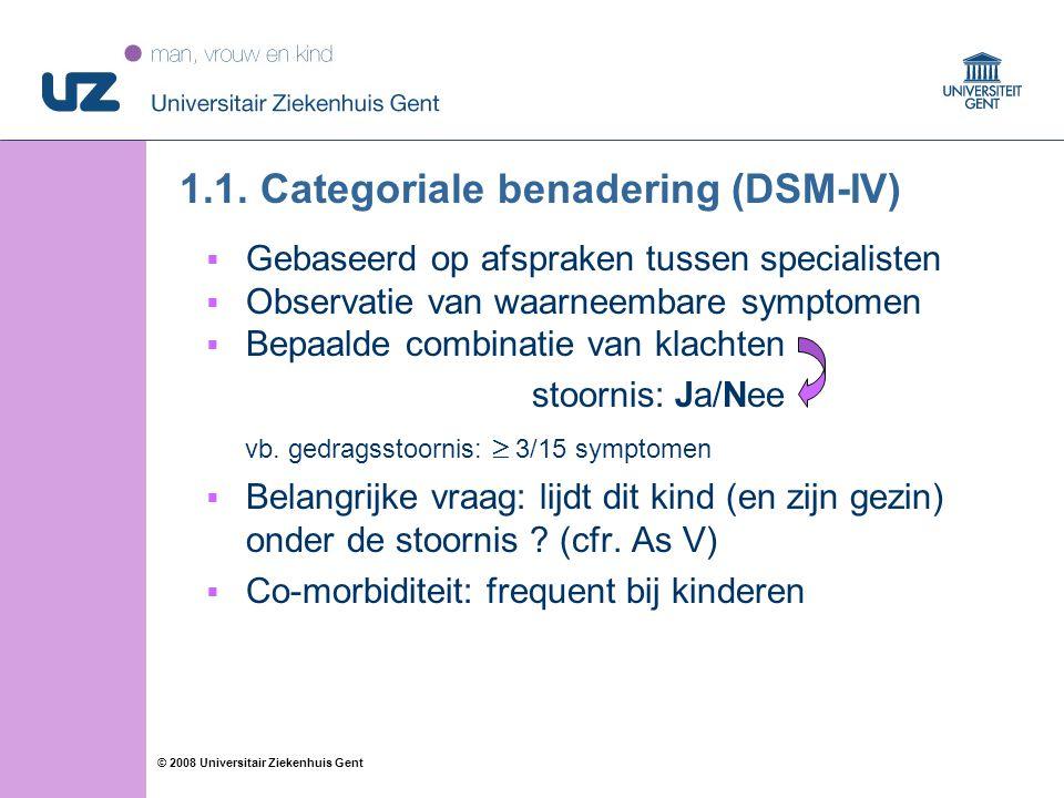 55 © 2008 Universitair Ziekenhuis Gent 1.1.
