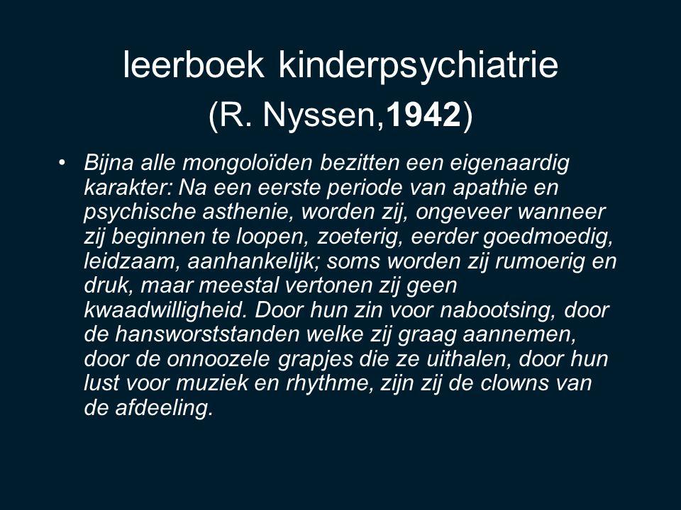 leerboek kinderpsychiatrie (R.