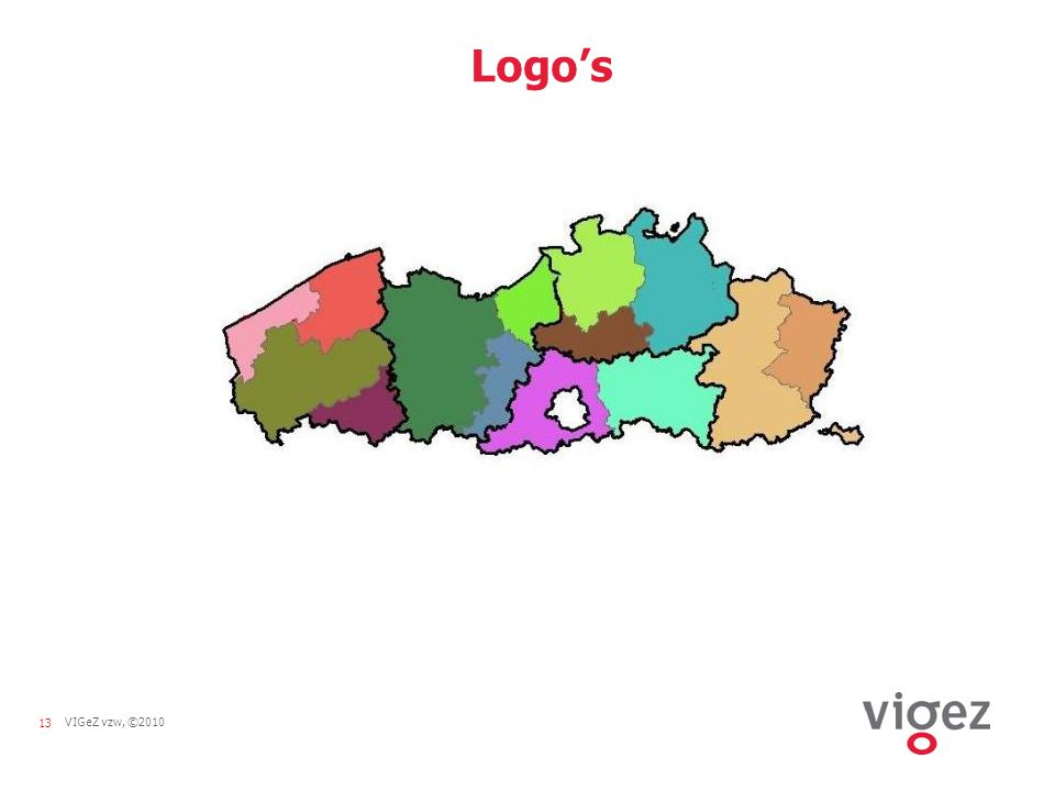 13VIGeZ vzw, ©2010 Logo's