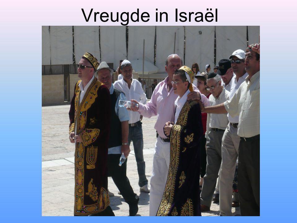 Vreugde in Israël